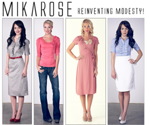 MikaRose modest cute clothing